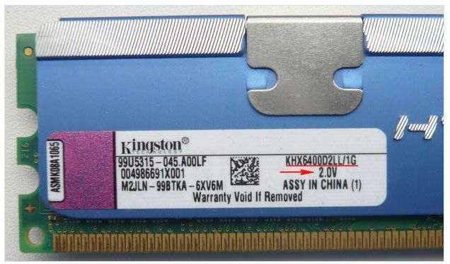 Kingston KHX6400D2LL/1G